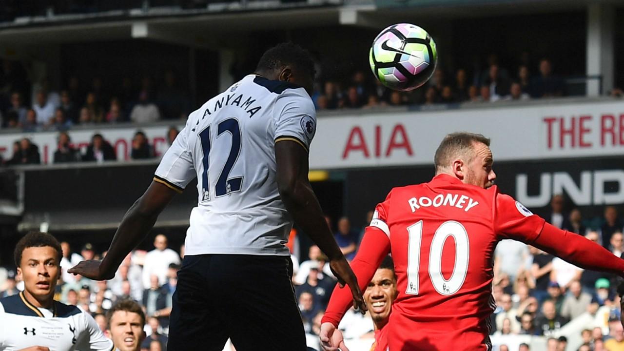 Victor Wanyama Tottenham v Man United
