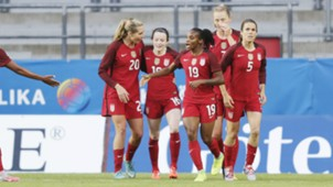 Rose Lavelle Allie Long Crystal Dunn Samantha Mewis Kelley O'Hara USWNT