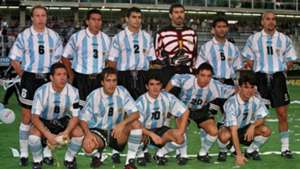 Argentina Colombia Qualifier WC1998