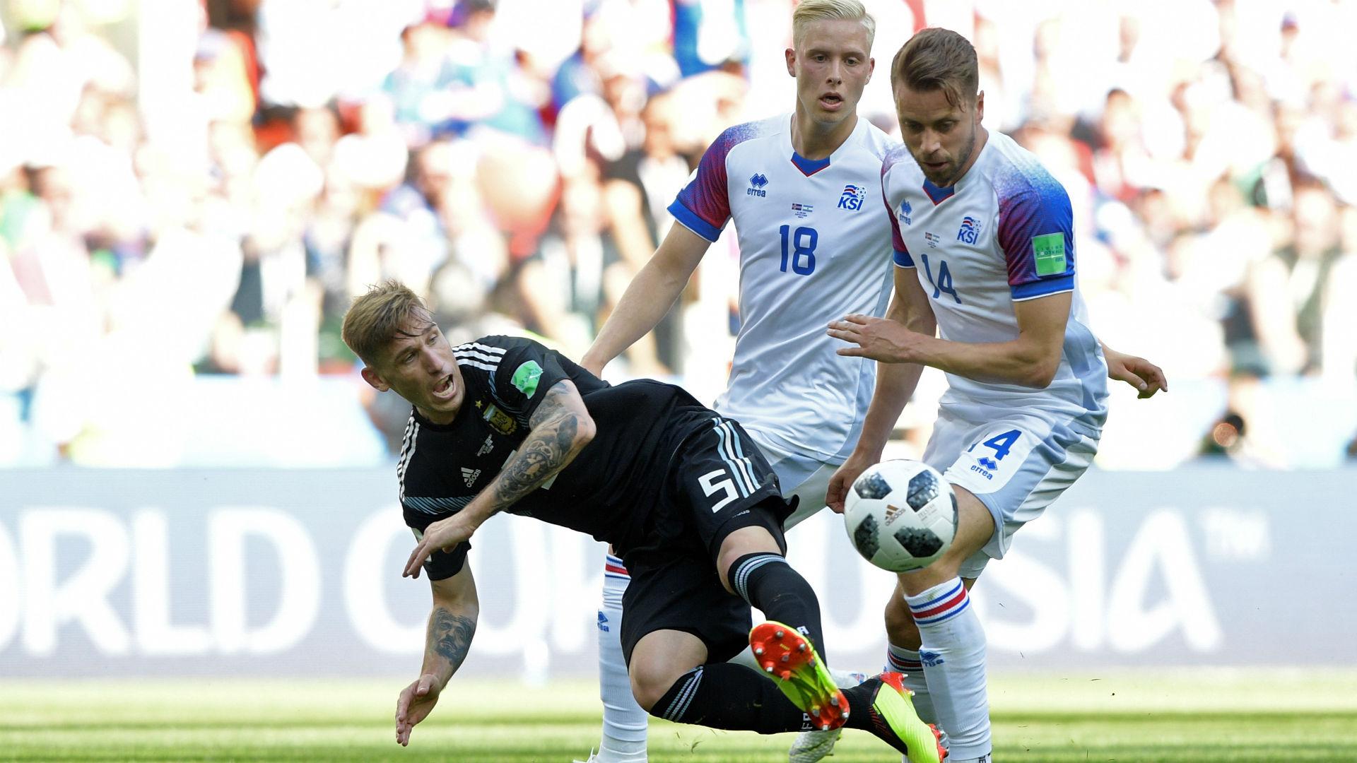 Lucas Biglia Argentina Islandia Iceland World Cup 16062018