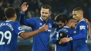 Everton celebrate 2018-19
