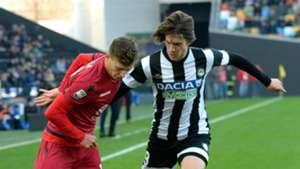 Andrija Balic, Nicolò Barella, Udinese, Cagliari, Serie A, 19112017
