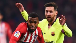 Thomas Lemar Lionel Messi Atletico Madrid Barcelona 2018-19