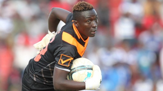 AFC Leopards keeper Ian Otieno.