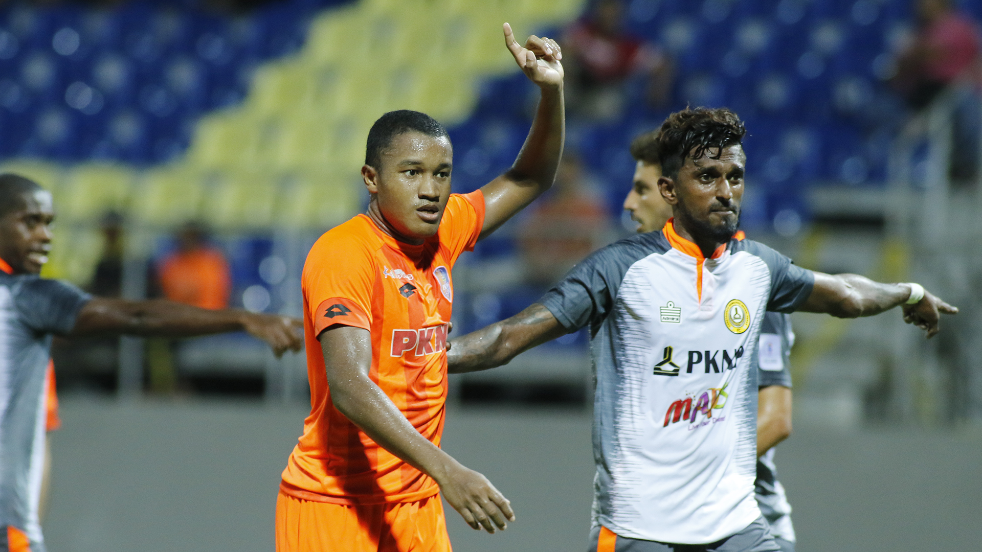 Rodney Akwensivie, PKNP FC v PKNS FC, Malaysia Super League, 25 Jun 2019