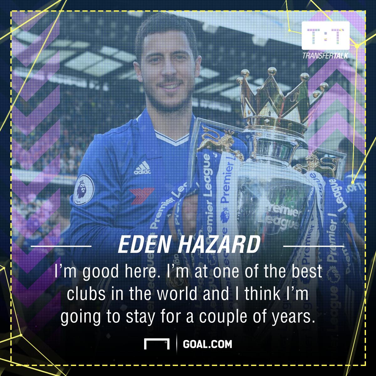Eden Hazard Chelsea future