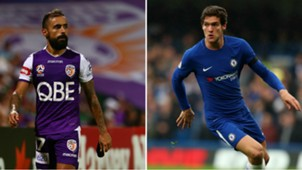 Diego Castro/ Marcos Alonso