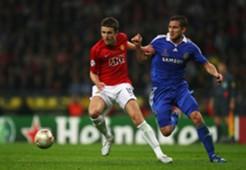 Michael Carrick & Frank Lampard  - Manchester United v Chelsea 2008