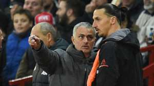 2018-01-30 Ibrahimovic Mourinho