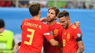 Sergio Ramos Spain Romania