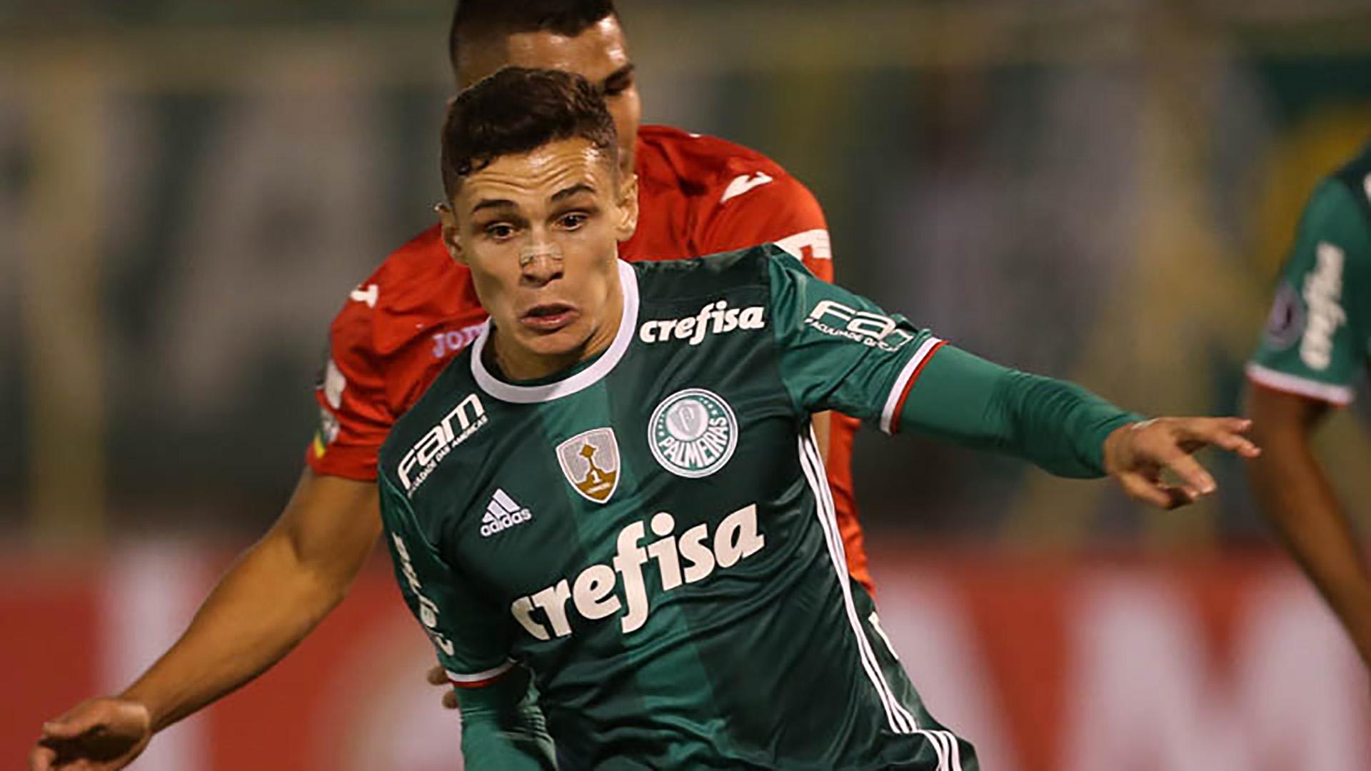 Raphael Veiga Jorge Wilstermann Palmeiras Libertadores 04052017