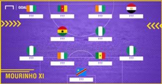 Mourinho African XI