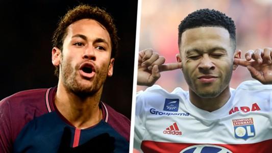 Neymar Memphis Depay Split