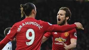 Zlatan Ibrahimovic, Daley Blind, Man Utd