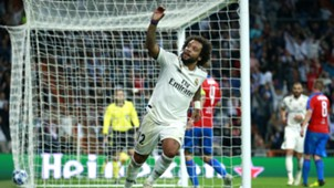 Marcelo Real Madrid Viktoria Plzen UCL 23102018