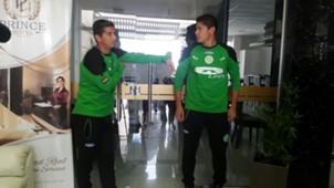 Jugadores de Petrolero del Chaco