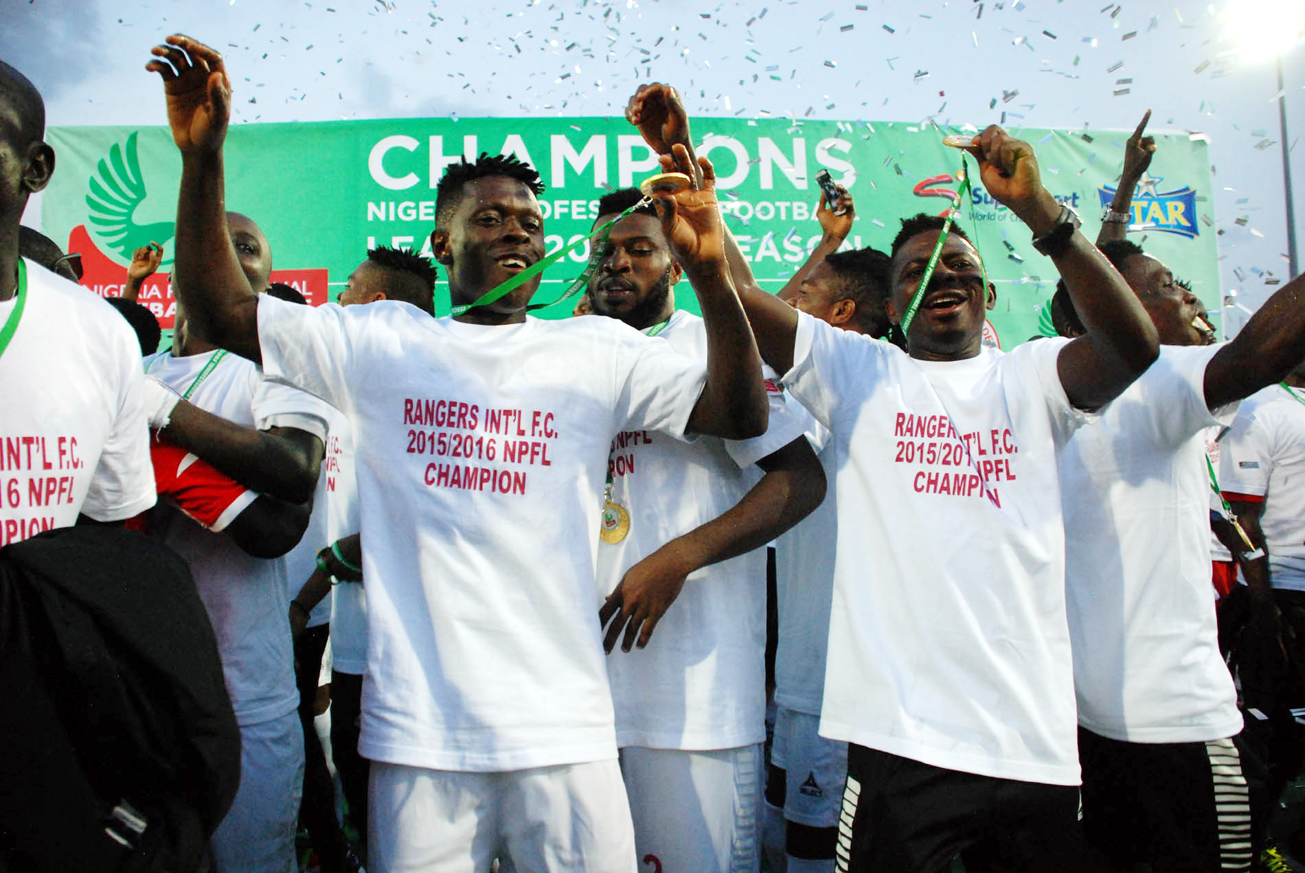 Enugu Rangers 2016 NPFL Title