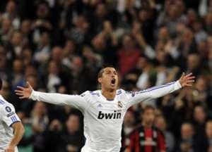 Real Madrid Milan 2010 2011 Cristiano Ronaldo