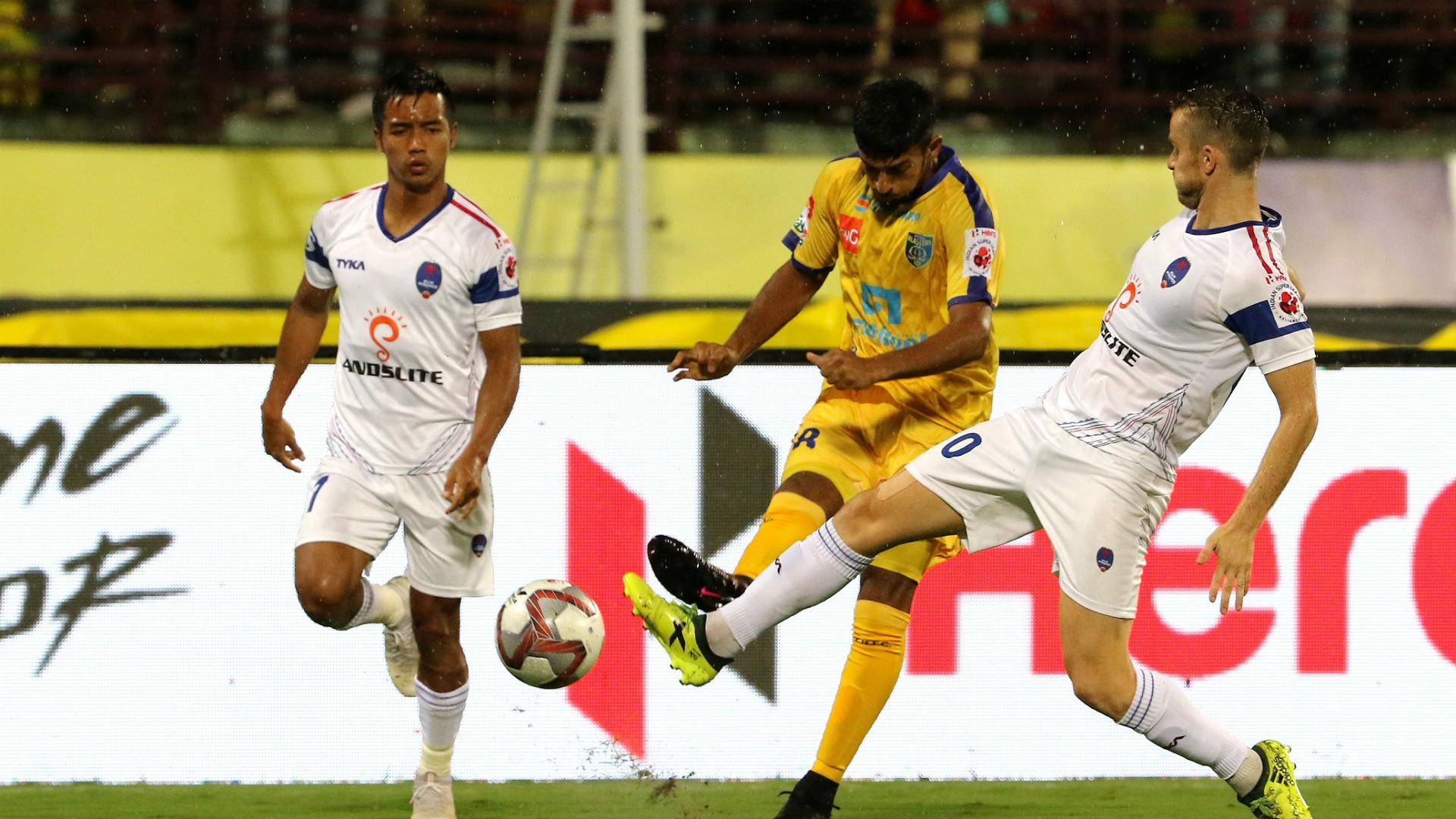 Kerala Blasters vs Delhi Dynamos ISL 2018-19