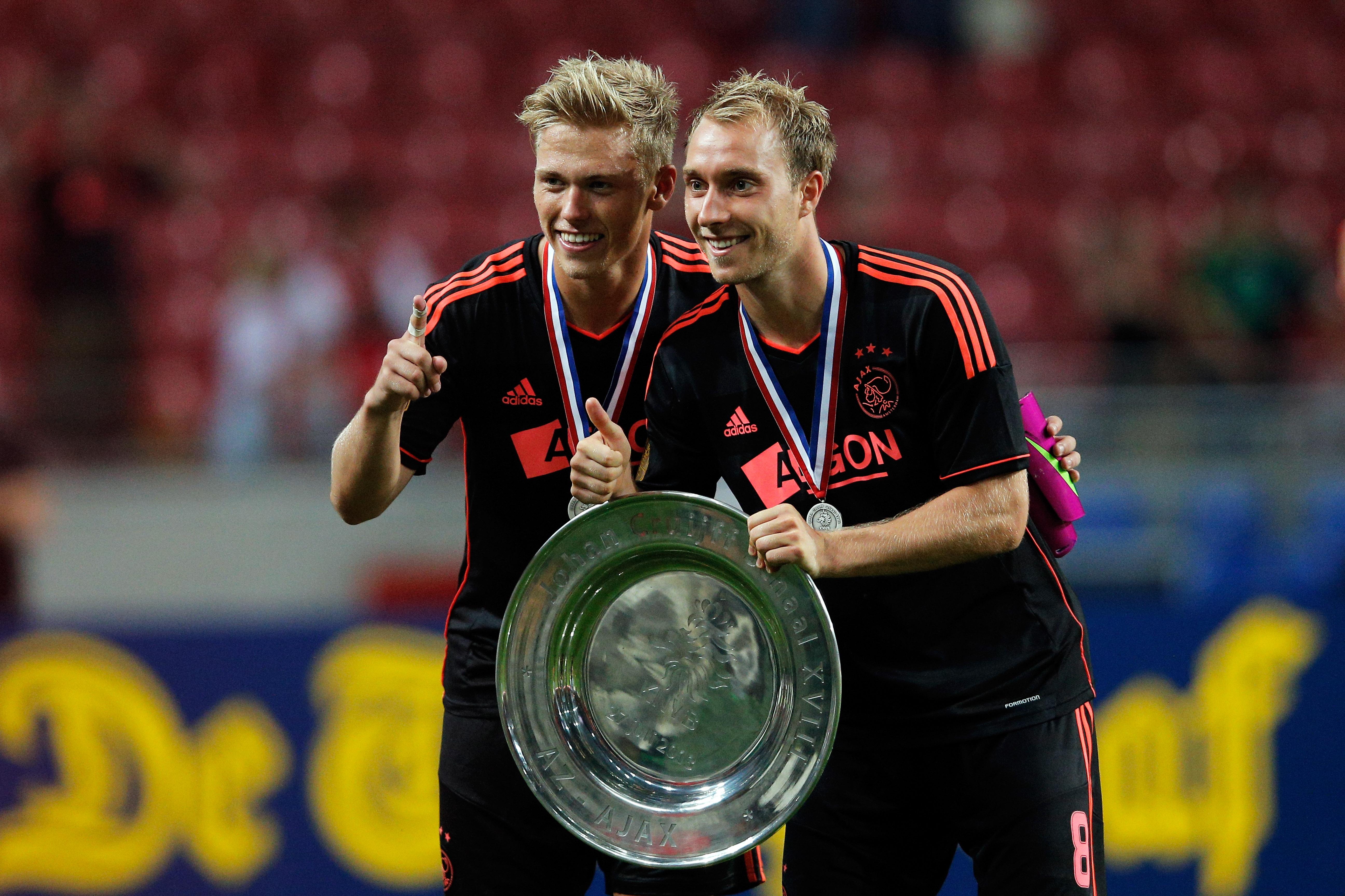 Ajax Amsterdam Viktor Fischer Christian Eriksen 27072013