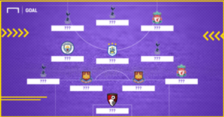 Premier League round 16 Best XI