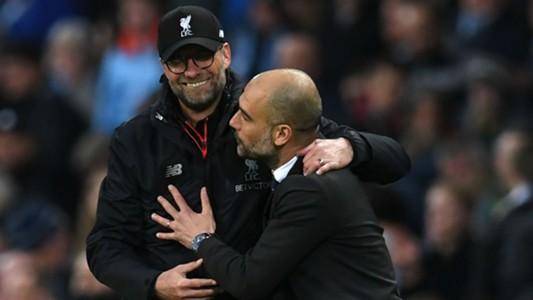 Jurgen Klopp Liverpool Pep Guardiola Manchester City