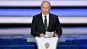 Vladimir Putin World Cup 2018 draw