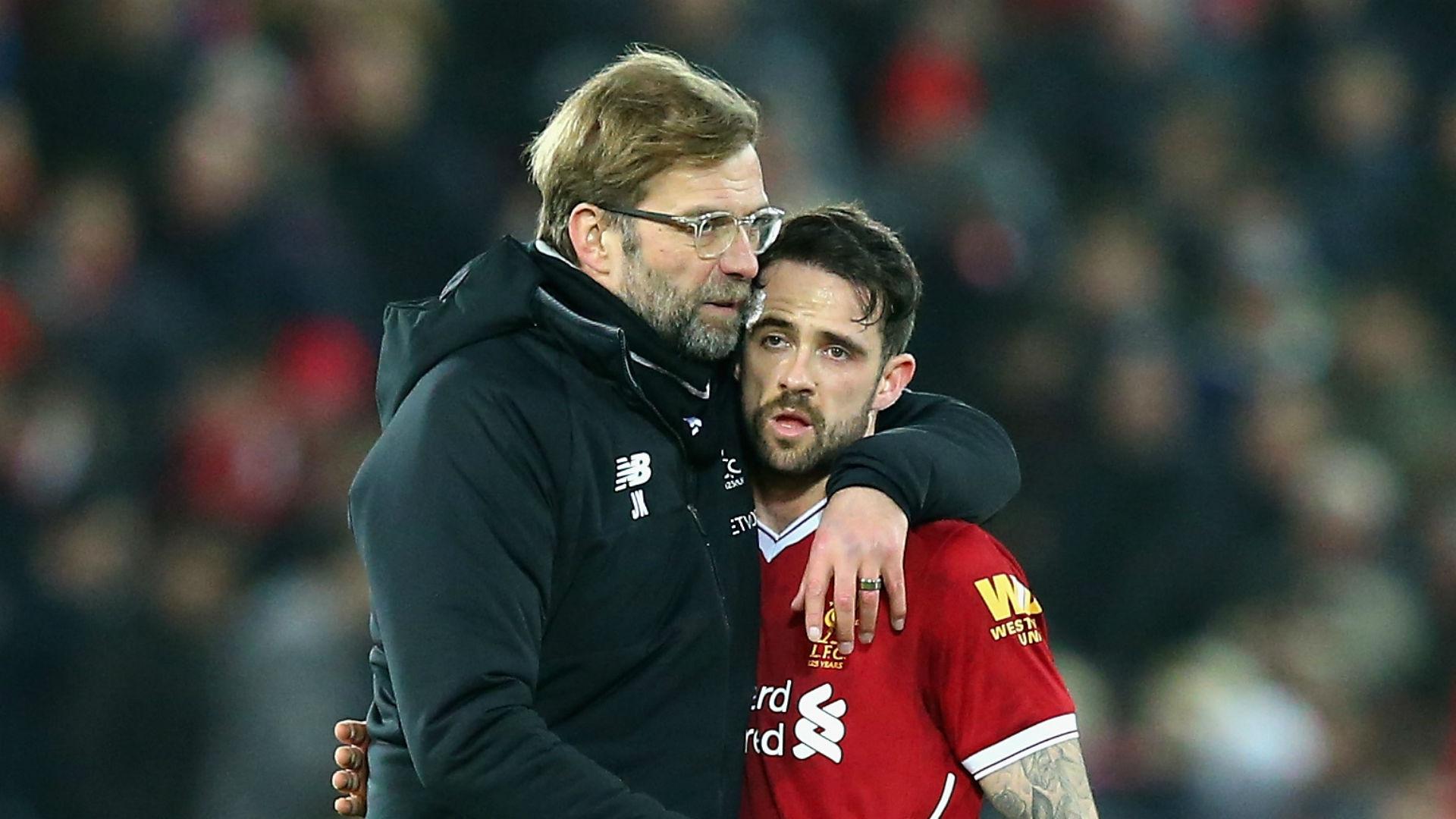 Jurgen Klopp Danny Ings Liverpool