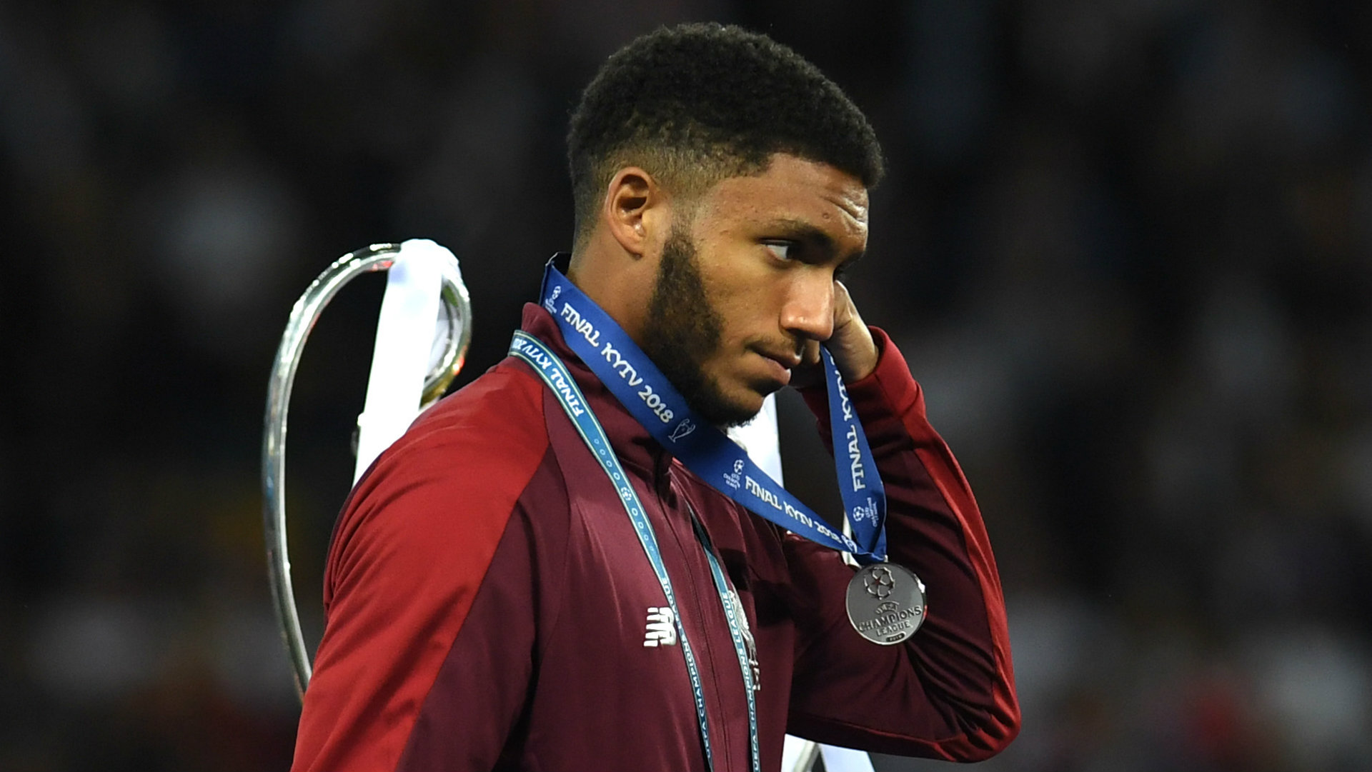 Joe Gomez Liverpool Champions League final 2018