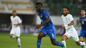 Mario Balotelli Italy Saudi Arabia