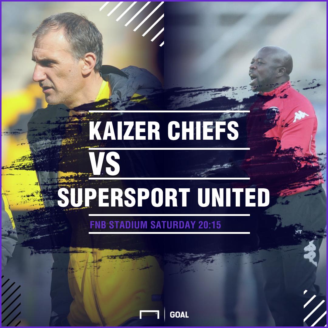 Kaizer Chiefs v SuperSport United MTN8