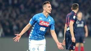 Milik Napoli Bologna Serie A