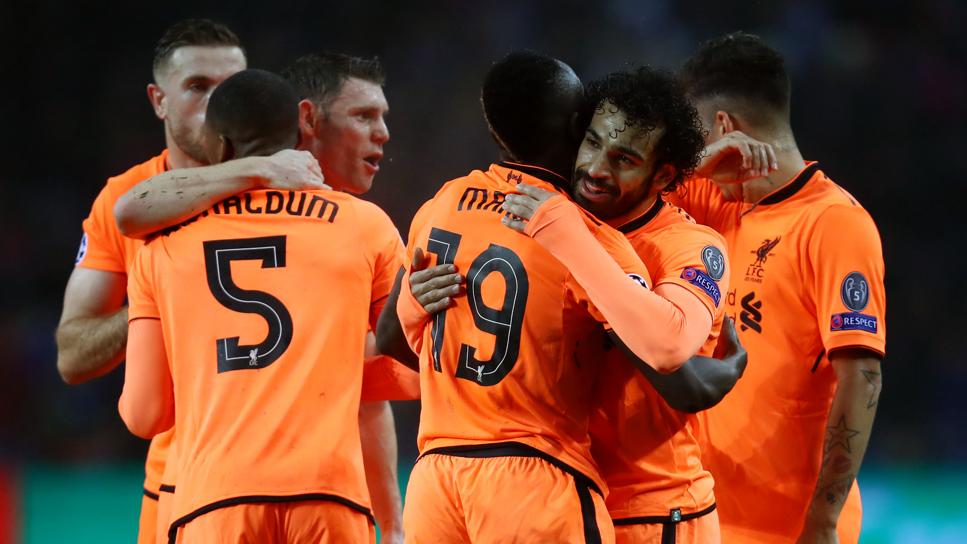 Liverpool put five past Porto as Real beat PSG 3-1