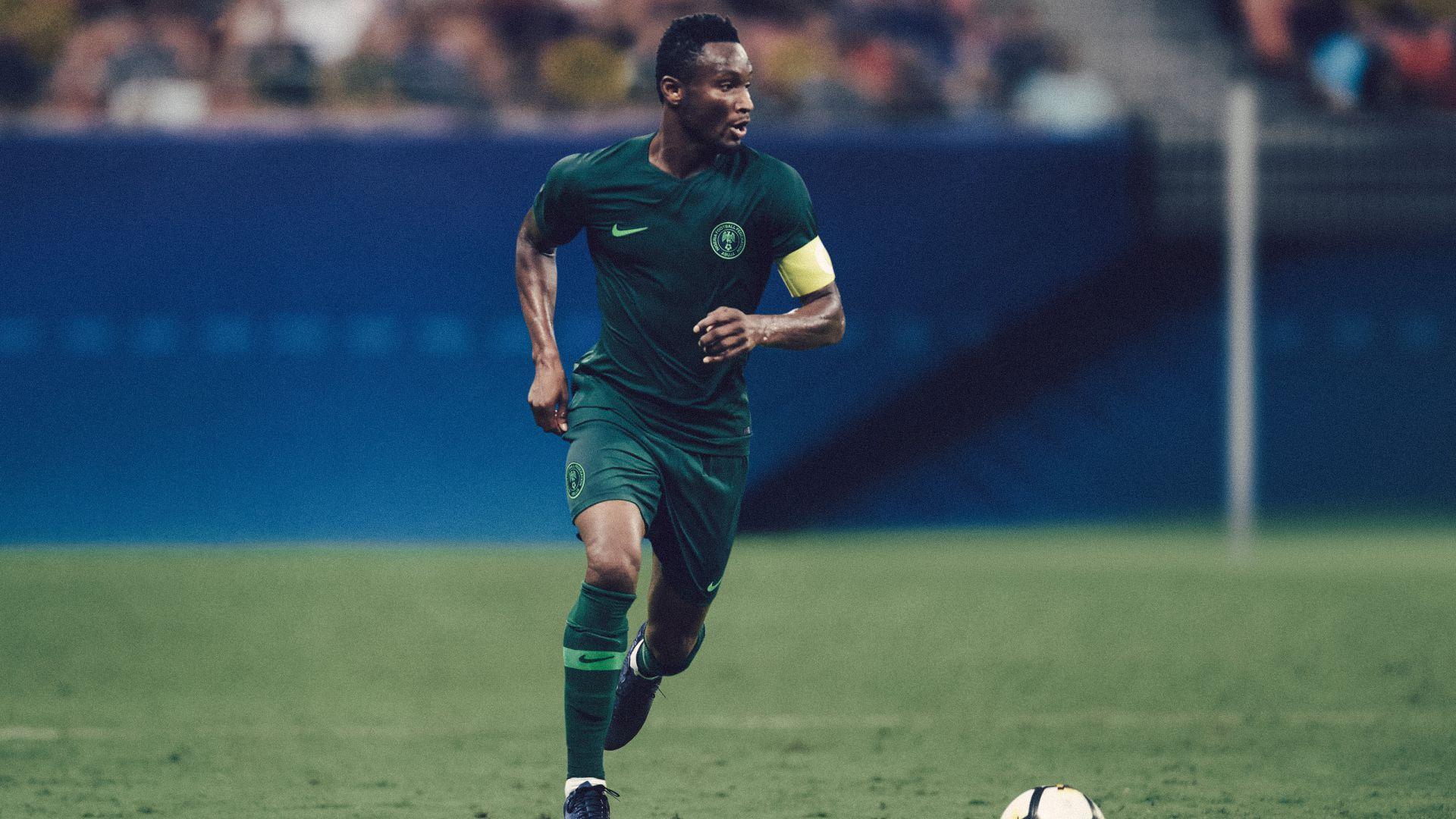 Nigeria away kit 2018