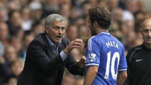 Juan Mata Jose Mourinho Chelsea