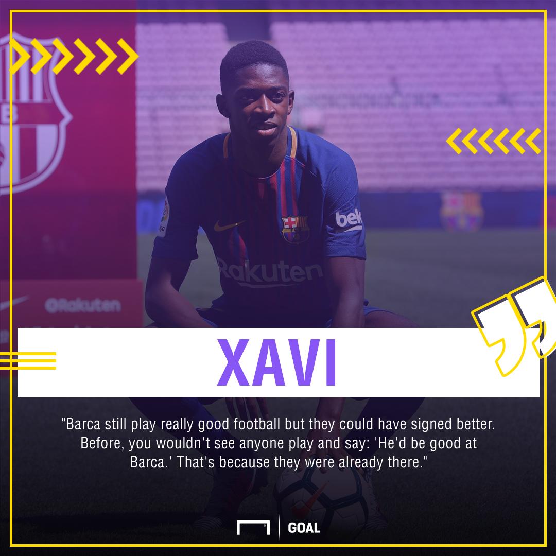 Xavi Barcelona signings