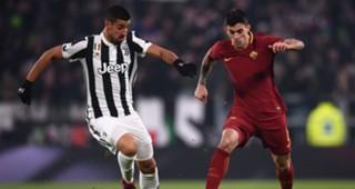 Sami Khedira Diego Perotti Juventus Roma Serie A