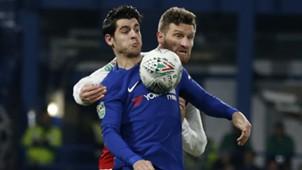 Alvaro Morata Chelsea Arsenal