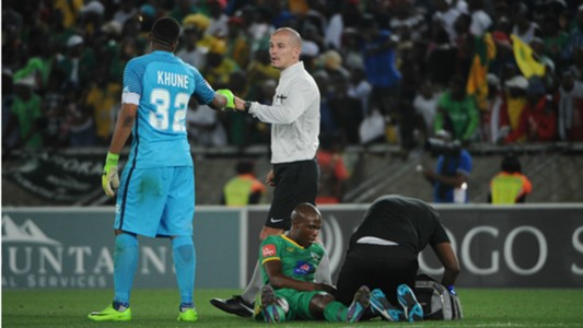 Itumeleng Khune and Victor Gomes - Kaizer Chiefs
