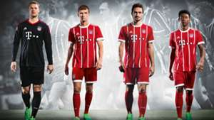 FC Bayern Home Kit 2017/2018