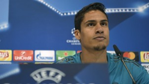 Raphael Varane Real Madrid Champions League press conference
