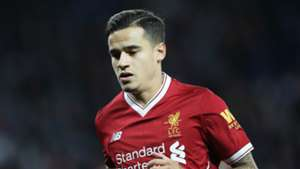 Philippe Coutinho Leicester City Liverpool EFL Cup