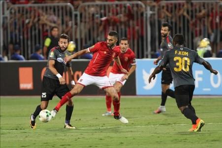 الأهلي - الترجي التونسي - عمرو السولية