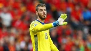 David De Gea Spain Czech Republic Euro 2016