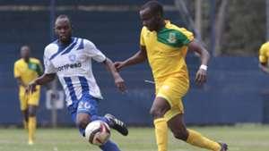 Whyvonne Isuza of AFC Leopards v Mathare United.j