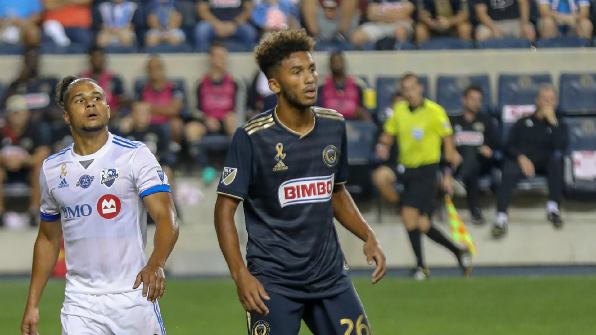 Auston Trusty MLS Philadelphia Union