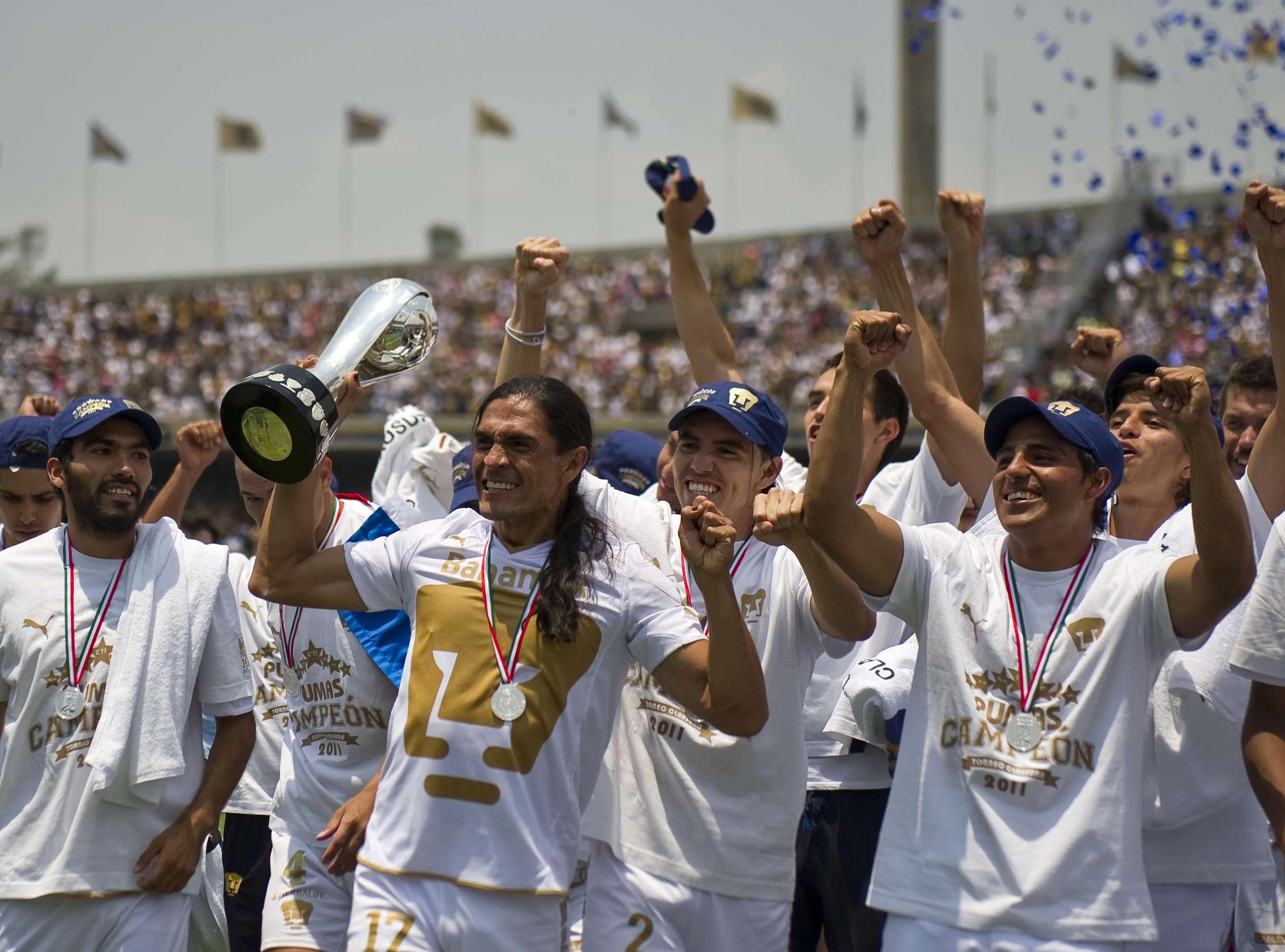 Pumas campeón Clausura 2011