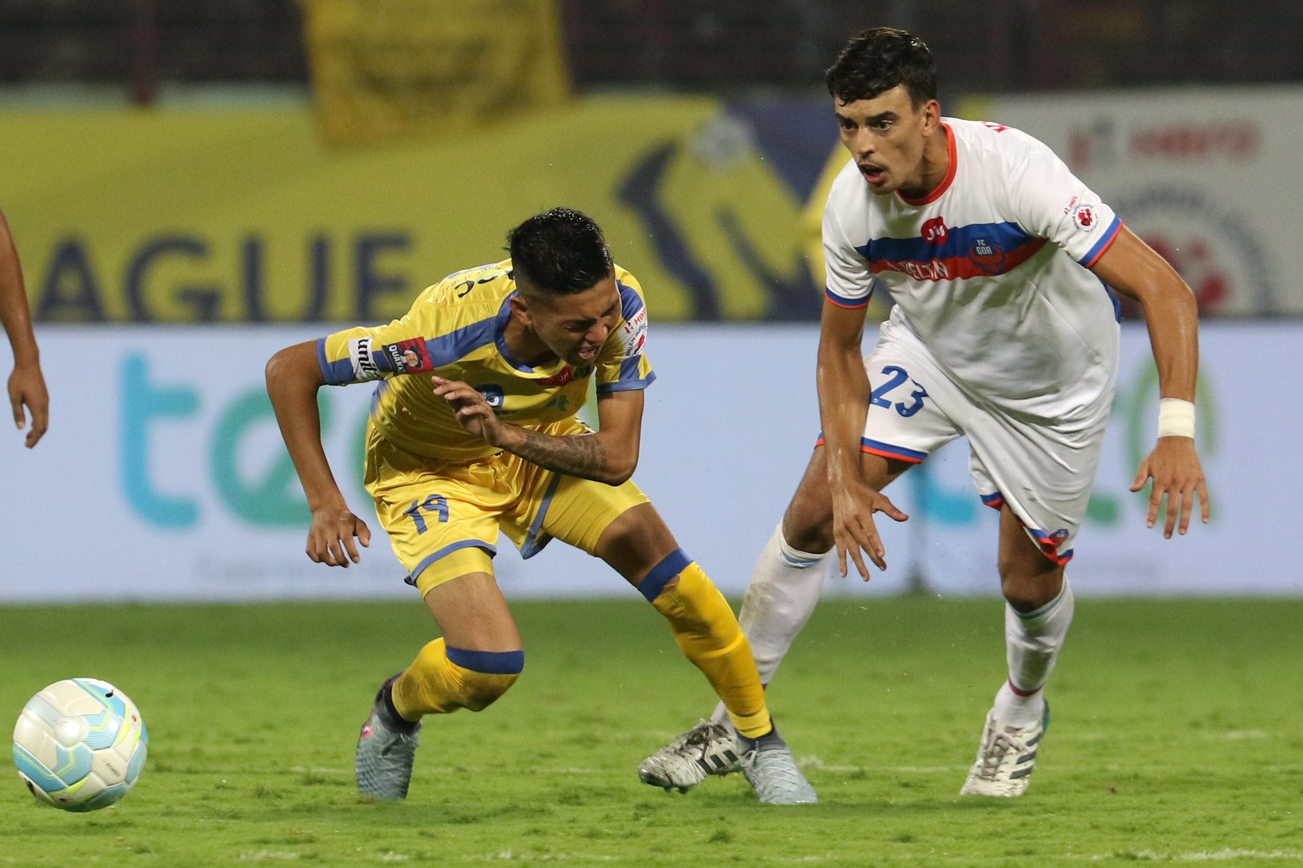 Siam Hangal Kerala Blasters FC Goa 2017-18 ISL
