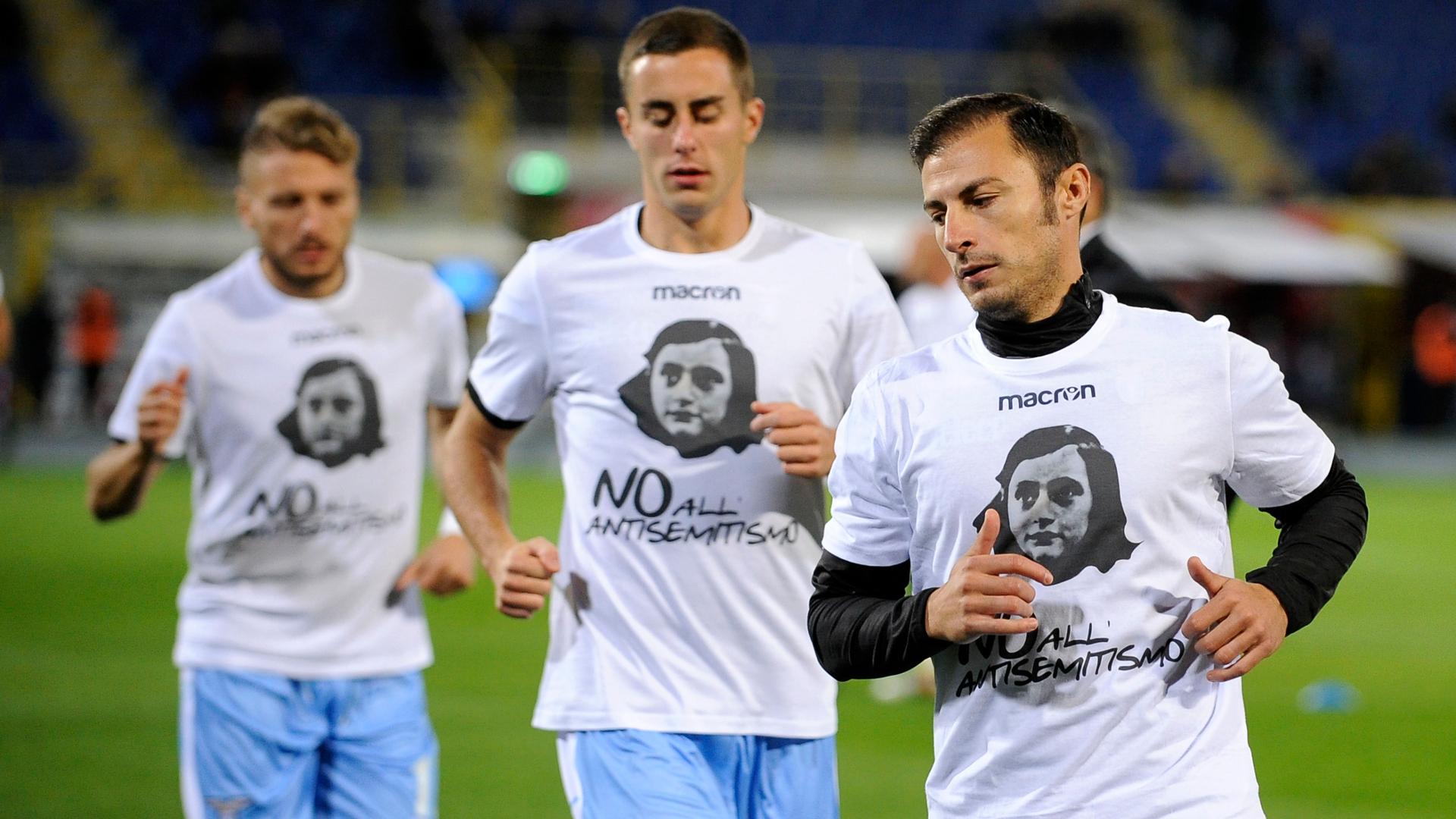Lazio anti-semitism tee-shirts