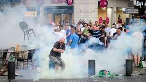 England fans Marseille